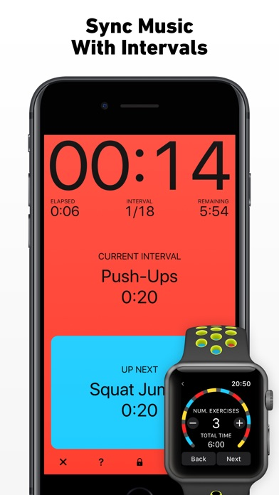 Screenshot for Seconds Pro Interval Timer in Belgium App Store