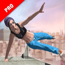 Parkour Stunt Girl Running Pro