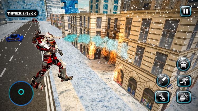 Fire Truck Robot Car Transform
