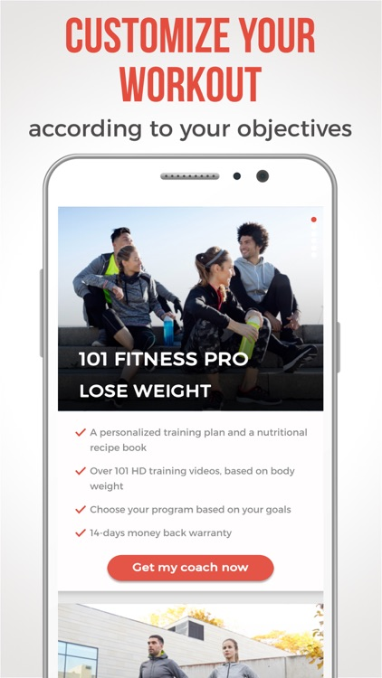 101 Fitness - Workout coach screenshot-3