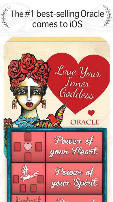 Love Your Inner Goddess Oracle screenshot 1