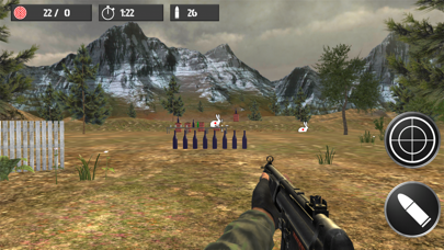 Shooting practice with bottles screenshot four