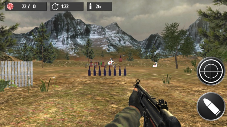 Shooting practice with bottles screenshot-3