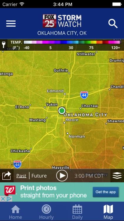 FOX 25 Stormwatch Weather screenshot-3
