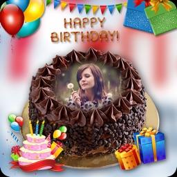 Name On Birthday Cake Photo