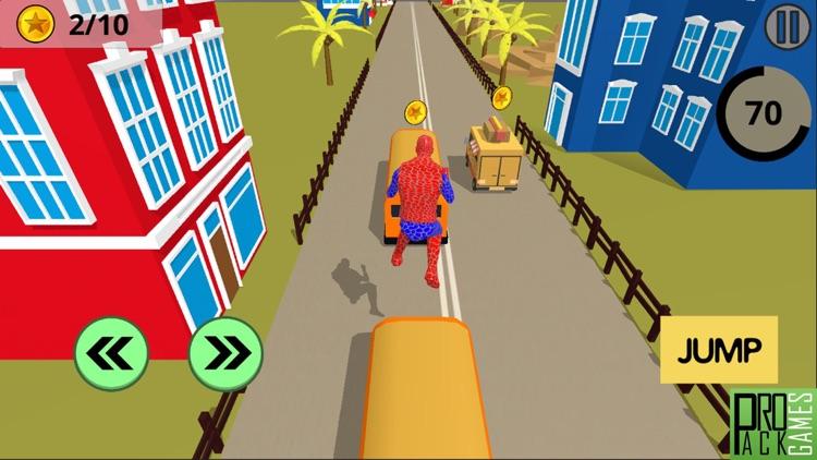 Amazing Spider Superhero – Strange Running Game