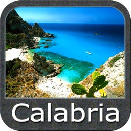 Marine : Calabria GPS map Nautical fishing charts
