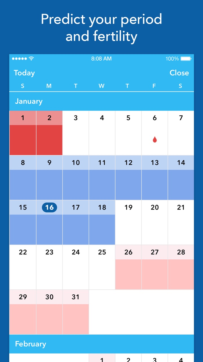 Spot On Period Tracker Screenshot
