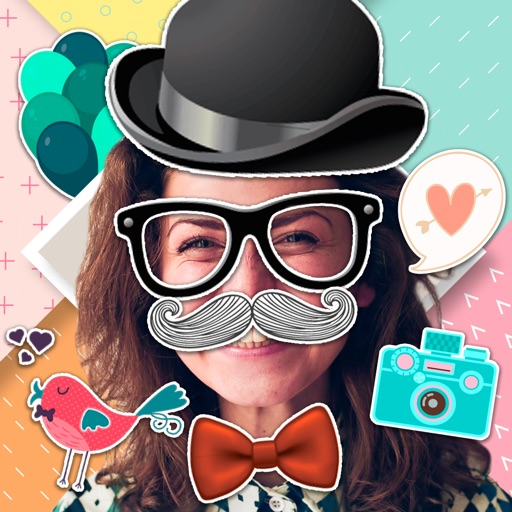 Stickers – Face Camera Booth iOS App