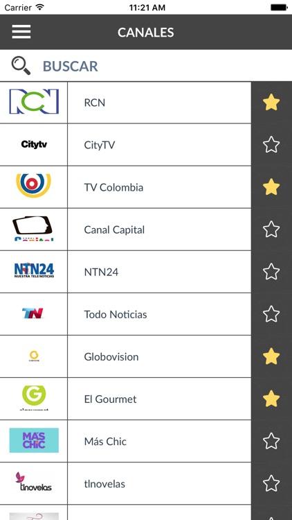 Guía de TV Colombia (CO)