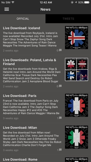 Red Hot Chili Peppers Official On The App Store