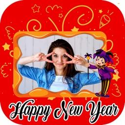 New Year Photo Frame Editor