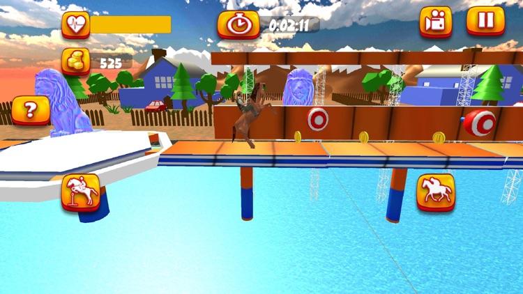 Horse Riding Stunt Simulation screenshot-4