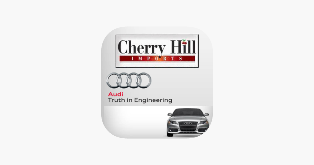 Audi Of Cherry Hill On The App Store - Cherry hill audi
