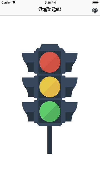 Tom's Traffic Light screenshot one