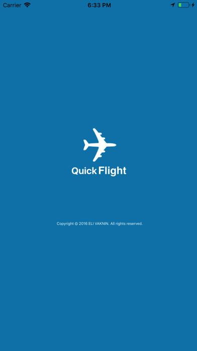Quick Flight screenshot 1