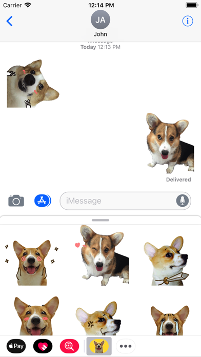 Puppy Face Animated Stickers screenshot three