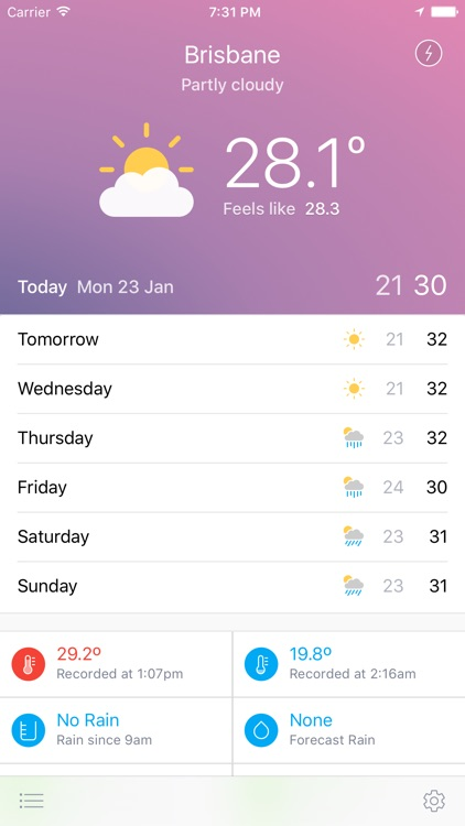 Pocket Weather Australia