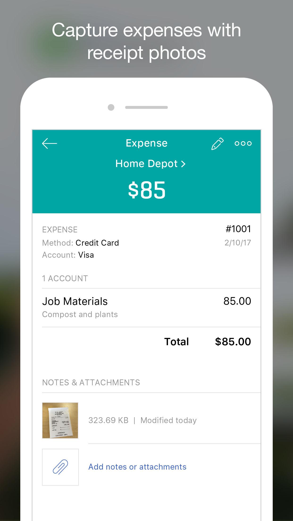 QuickBooks Accounting Screenshot