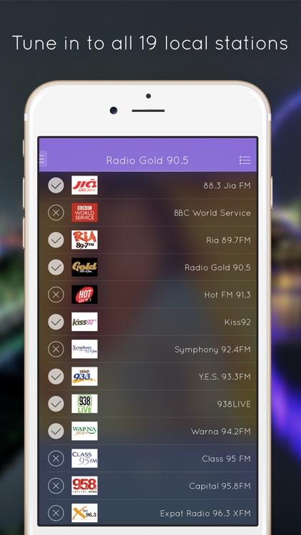 Radio SG - Singapore Stations