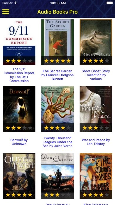 Screenshot for Audio Books - Books of Royal PRO in United States App Store