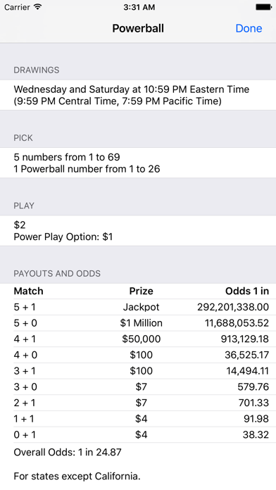 download Lotto Results + Lottery in US apps 3