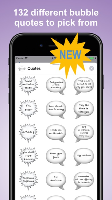 Popular Movie Quotes Stickers screenshot one