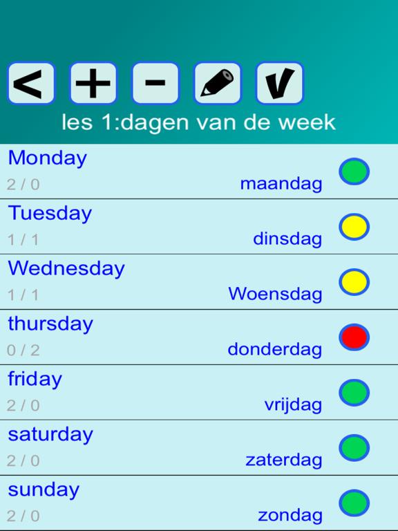 Woorden EN (taalles, vertalen) screenshot 6