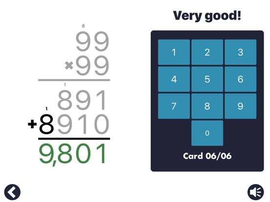 Screenshot #4 for MathEdge Multiplication