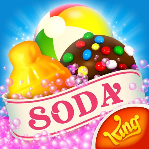 Candy Crush Soda Saga app logo