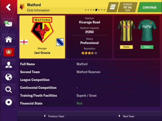 Football Manager 2019 Mobile screenshot #3