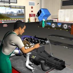 Euro Truck Mechanic Simulator - Engine Repair Shop