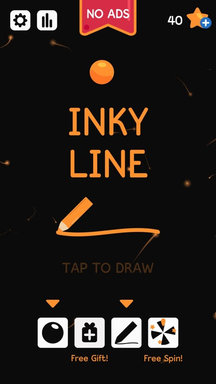 Inky Line: Drawing Pen Puzzle screenshot-0