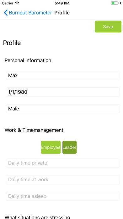 Betriebs Barometer Screenshot