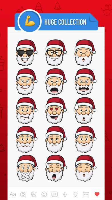 Merry Christmas Stickers 2017 screenshot two