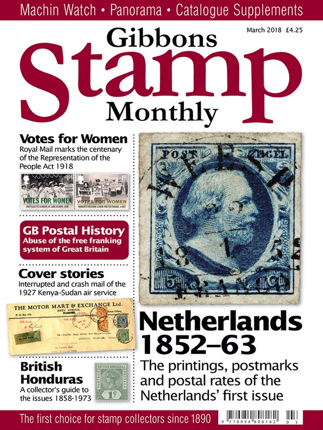 Gibbons Stamp Monthly Magazine On The App Store
