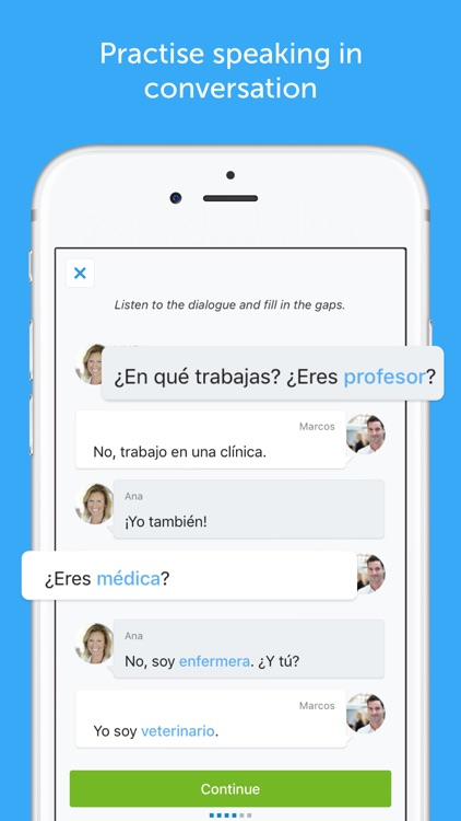 busuu - Learn English, Spanish & Other Languages screenshot-3