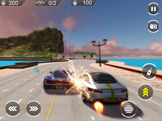 Mega Ramp Stunt Car Racing 18-ipad-0