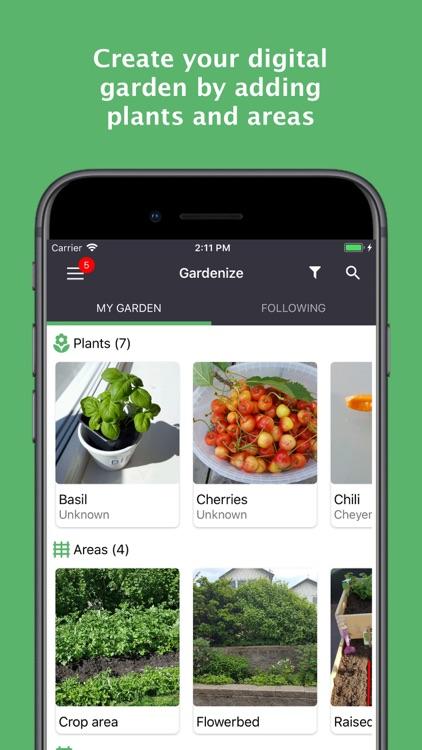 GARDENIZE - garden & plant app screenshot-0