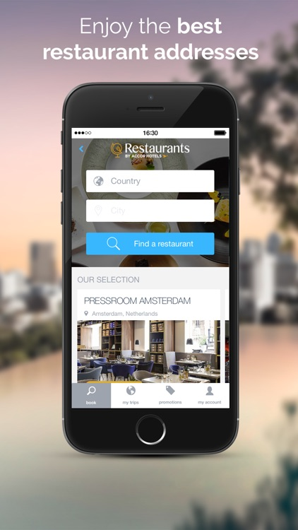 AccorHotels - Hotel booking