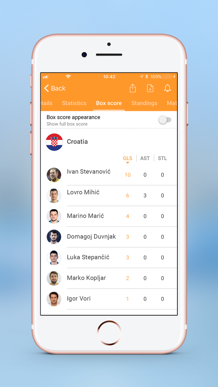 Handball LIVE Screenshot