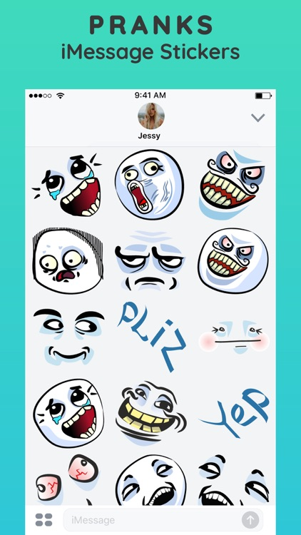 Meme Stickers for iMessage App