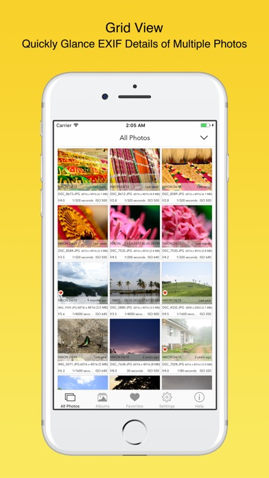 Screenshot #9 for EXIF Viewer by Fluntro
