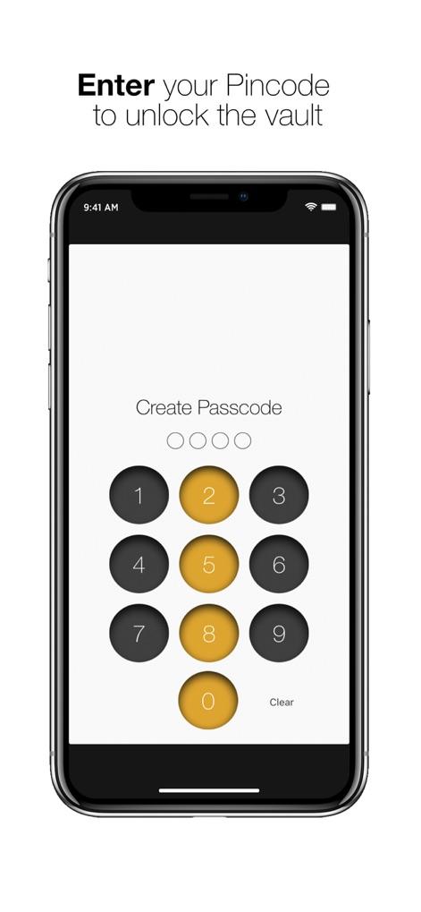 App screenshot for Secret Folder - Photo Vault