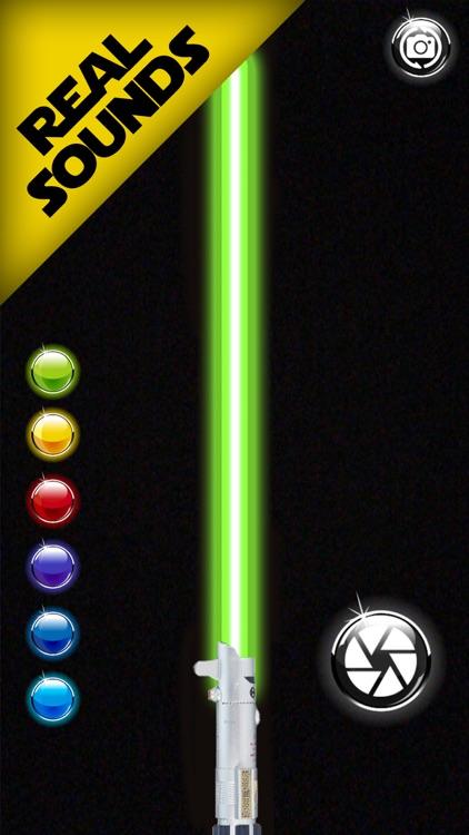 Neon lightsaber screenshot-3