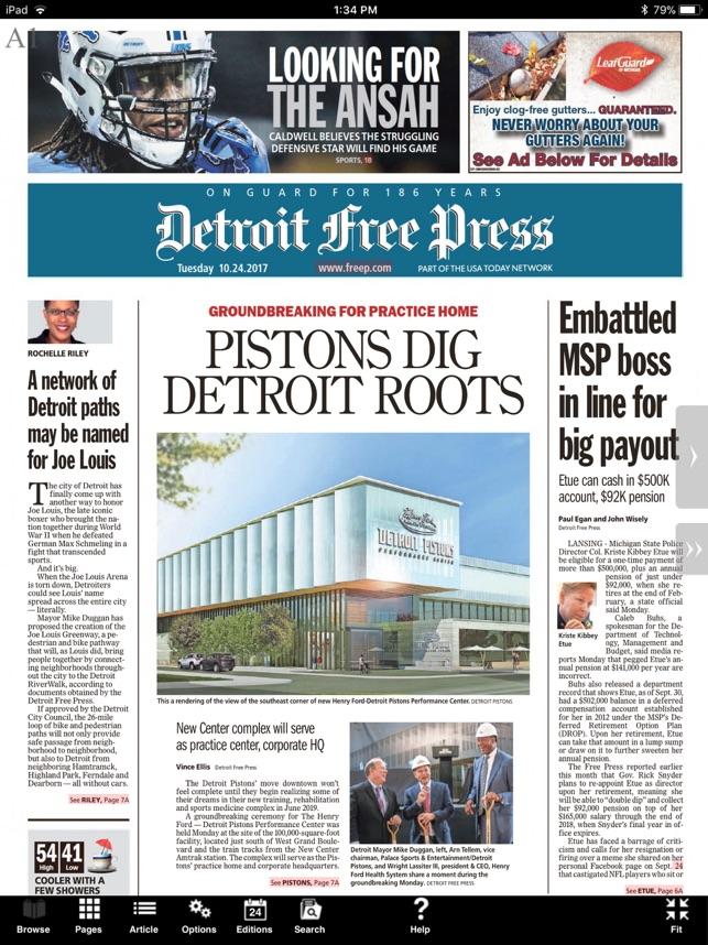 Detroit free press apps on google play.