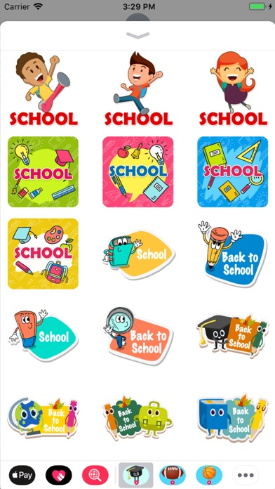 Animated Back to School screenshot 3