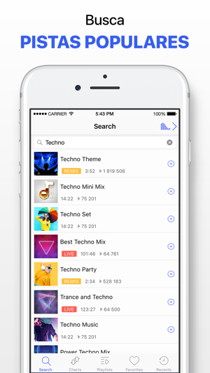 5e401d76acf Reproductor música sin limites en App Store