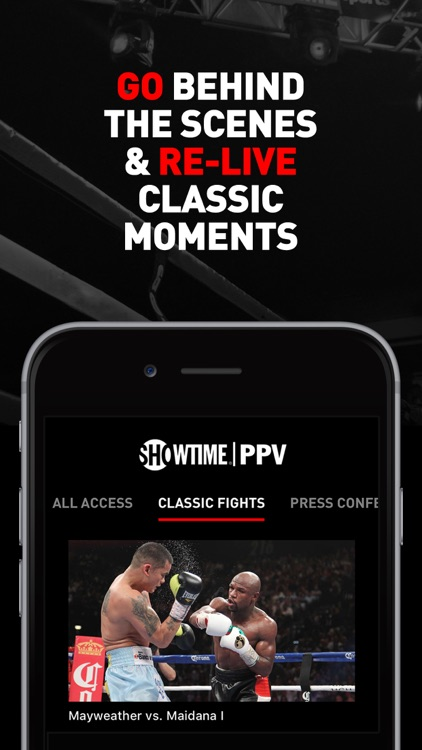 SHOWTIME PPV- Mayweather vs. McGregor- Stream Live screenshot-2