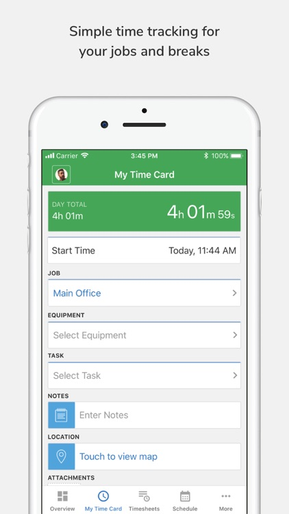 tsheets time tracker - Time Card Tracker